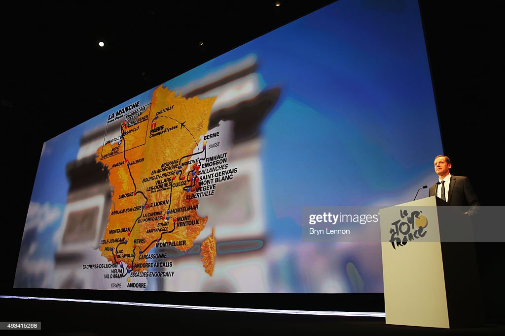 Le Tour de France 2016 Route Announcement