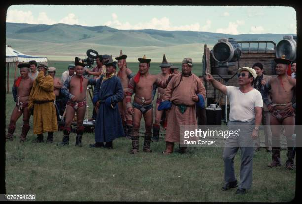 Directing Actors on Motion Picture Set Mongolia