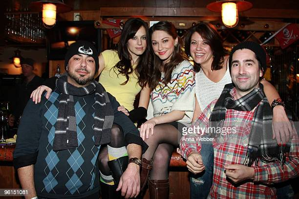 Directing team The Butcher Brothers Mitchell Altieri and Phil Flores and actresses Mackenzie Firgens Christina Prousalis and Tiffany Shepis attend...