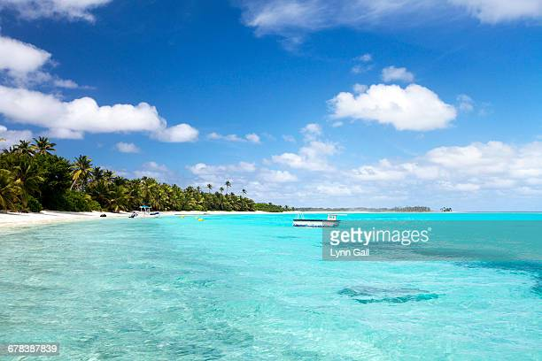 Direction Island beach, Cocos Keeling Islands, Western Australia, Australia, Indian Ocean
