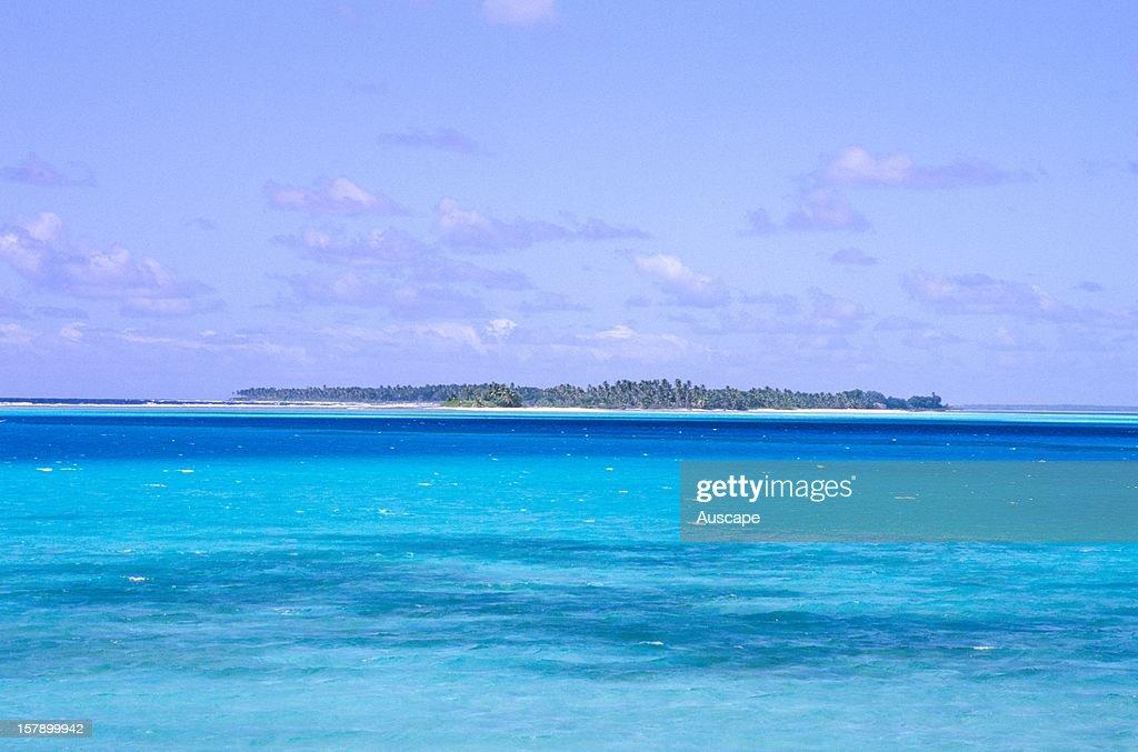 Direction Island or Puau Tikus, an uninhabited island with an area of 34 hectares.Cocos (Keeling) Islands, Australian Territory, Indian Ocean.