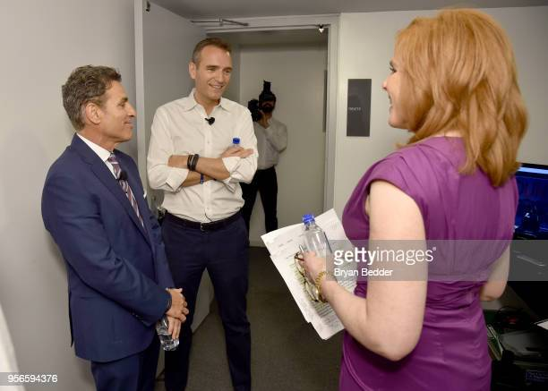 Directional Aviation Capital Chairman Kenn Ricci Epic Foundation CEO and Foundation Alexandre Mars and Fox Business Network Anchor Liz Claman attend...