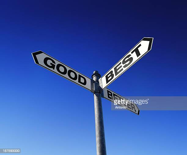 directional choices arrow signpost - improvement stock pictures, royalty-free photos & images