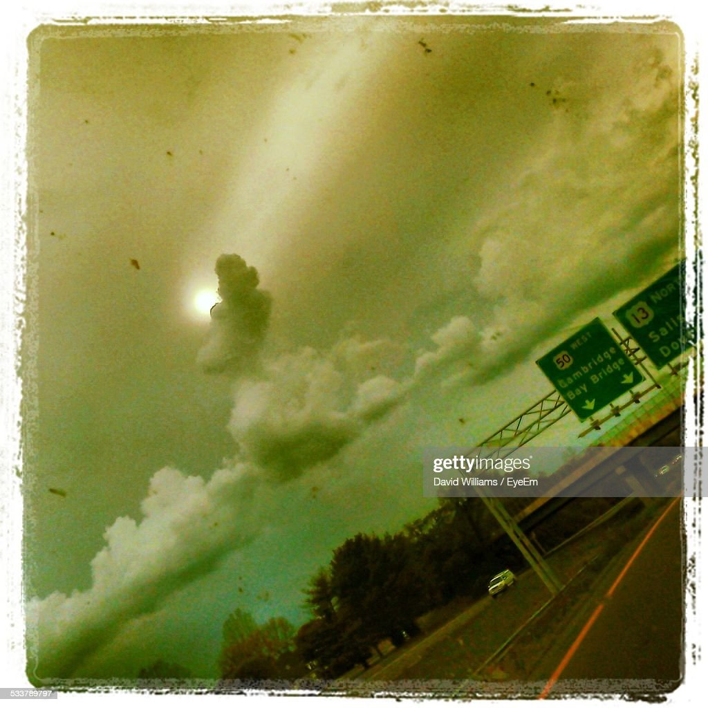 Directional Signboards On Road : Foto stock
