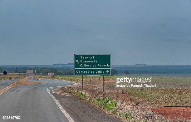 Directions in Mato Grosso