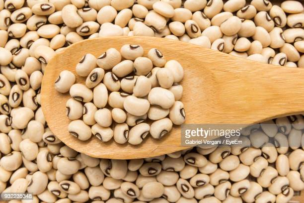 directly above shot of beans - black eyed peas food stock pictures, royalty-free photos & images
