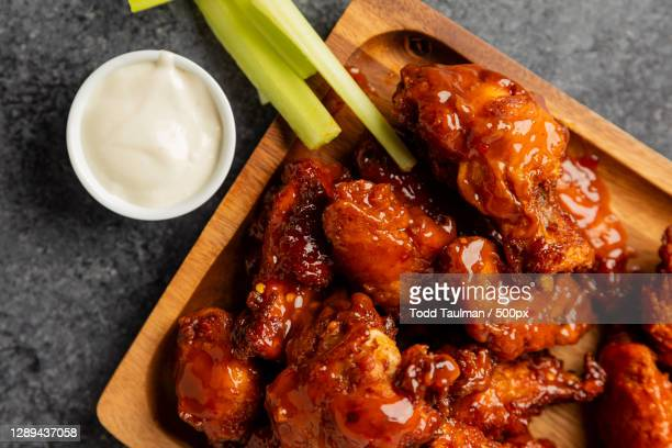 directly above shot of meat in plate on table,indianapolis,indiana,united states,usa - indianapolis stock pictures, royalty-free photos & images