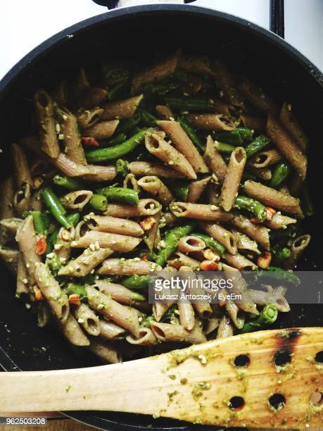 Directly Above Shot Of Pasta In Container