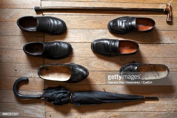 directly above shot of shoes - loafer stock pictures, royalty-free photos & images