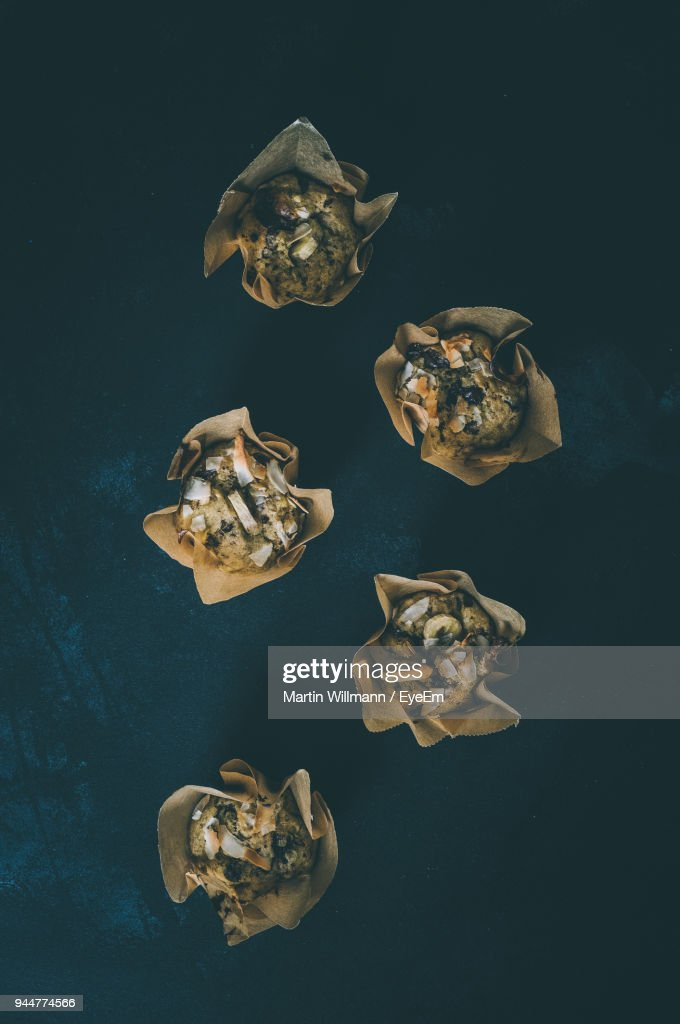 Directly Above Shot Of Sweet Food : Stock Photo