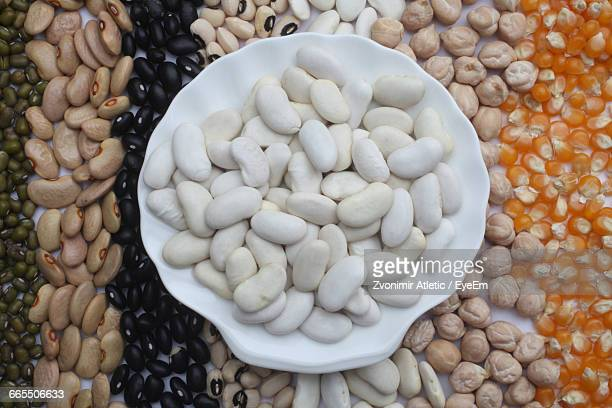 directly above view of beans - black eyed peas food stock pictures, royalty-free photos & images
