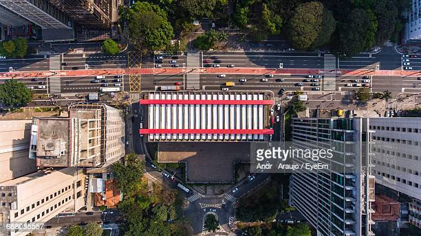 directly below shot of art museum at sao paulo - são paulo stock pictures, royalty-free photos & images