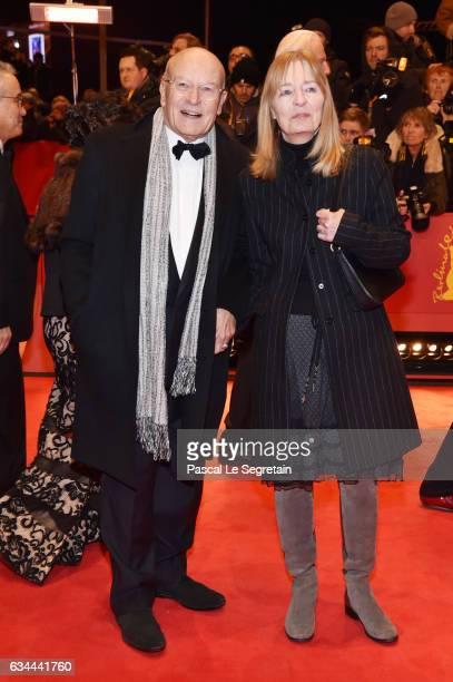 Directo Volker Schloendorff and Angelika Schloendorff attend the 'Django' premiere during the 67th Berlinale International Film Festival Berlin at...