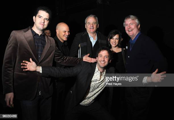 Director Aaron Schneider actor Joey Rappa actor Bill Murray producer Trevor Groth actress Lori Beth Edgeman and producer David Gundlach attend the...