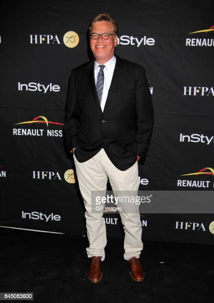 Director Aaron Sorkin attends The Hollywood Foreign Press Association and InStyle's annual celebrations of the 2017 Toronto International Film...