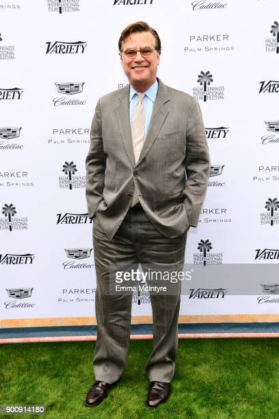 Director Aaron Sorkin attends the Variety's Creative Impact Awards and 10 Directors to watch at the 29th Annual Palm Springs International Film...