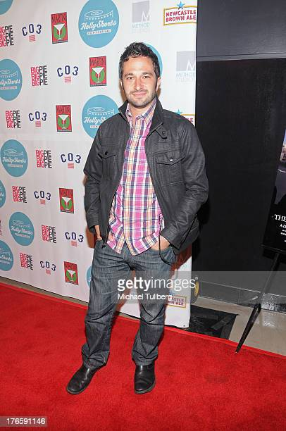 Director Aaron Wolf attends the opening night of the 9th Annual HollyShorts Film Festival at TCL Chinese Theatre on August 15 2013 in Hollywood...