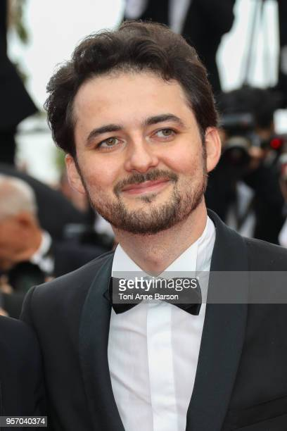 Director AB Shawky attend the screening of 'Yomeddine' during the 71st annual Cannes Film Festival at Palais des Festivals on May 9 2018 in Cannes...