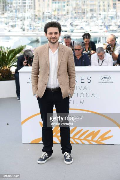 Director AB Shawky attends the photocall for 'Yomeddine' during the 71st annual Cannes Film Festival at Palais des Festivals on May 10 2018 in Cannes...