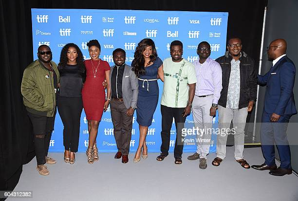 Director Abba Makama actresses Genevieve Nnaji Omoni Oboli producer/director UduakObong Patrick director Kemi Adetiba actor Kunle Afolayan directors...
