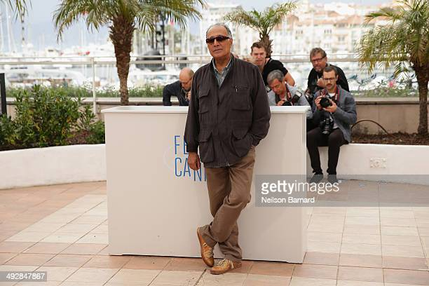 Director Abbas Kiarostami attends the Short Films Jury photocall during the 67th Annual Cannes Film Festival on May 22 2014 in Cannes France
