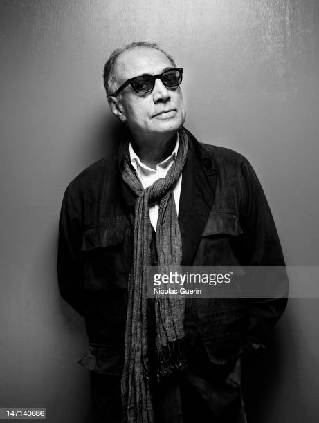 Director Abbas Kiarostami is photographed for Self Assignment on May 21 2012 in Cannes France