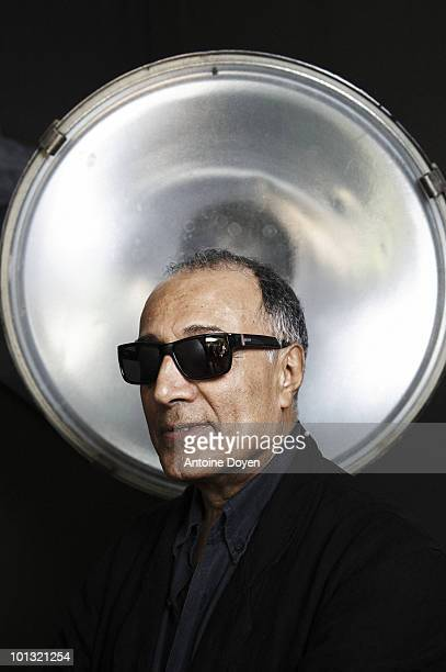 Director Abbas Kiarostami poses at a portrait session in Cannes at the 63rd Cannes Film Festival France May 2010