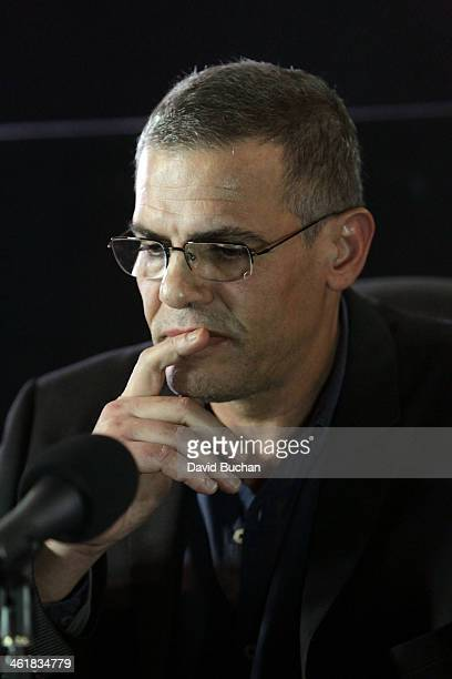 Director Abdellatif Kechiche attends the Golden Globe Foreign Language Film Symposium at the Egyptian Theatre on January 11 2014 in Hollywood...