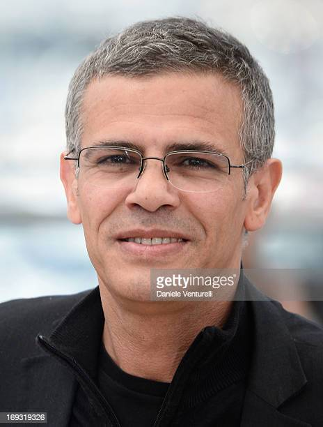 Director Abdellatif Kechiche attends the photocall for 'La Vie D'Adele' during the 66th Annual Cannes Film Festival at The Palais des Festivals on...