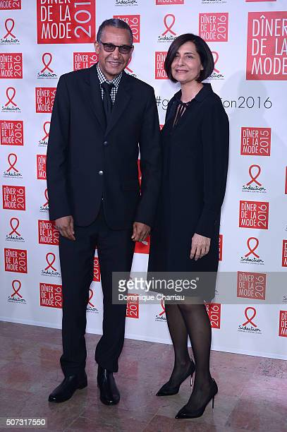 Director Abderrahmane Sissako attends the Sidaction Gala Dinner 2016 as part of Paris Fashion Week on January 28 2016 in Paris France
