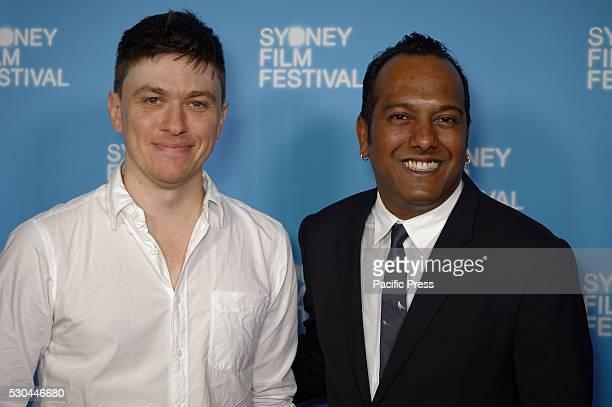 HOUSE SYDNEY NSW AUSTRALIA Director Abe Forsythe and Festival Director Nashen Moodley arrive at the 63rd Sydney Film Festival program official launch...