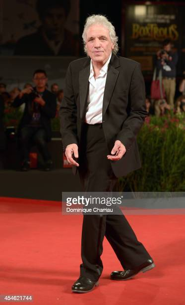 Director Abel Ferrara attends 'Pasolini' Premiere during the 71st Venice Film Festival at Sala Grande on September 4, 2014 in Venice, Italy.