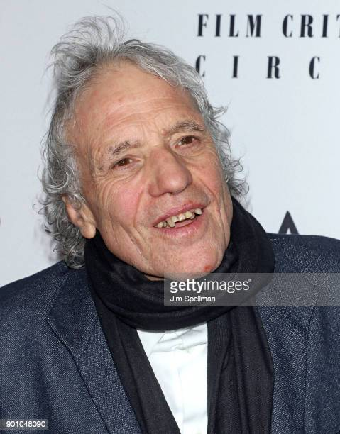 Director Abel Ferrara attends the 2017 New York Film Critics Awards at TAO Downtown on January 3 2018 in New York City