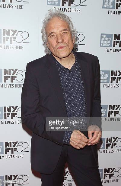Director Abel Ferrara attends the Heaven Knows What Premiere during the 52nd New York Film Festival at Alice Tully Hall on October 2 2014 in New York...