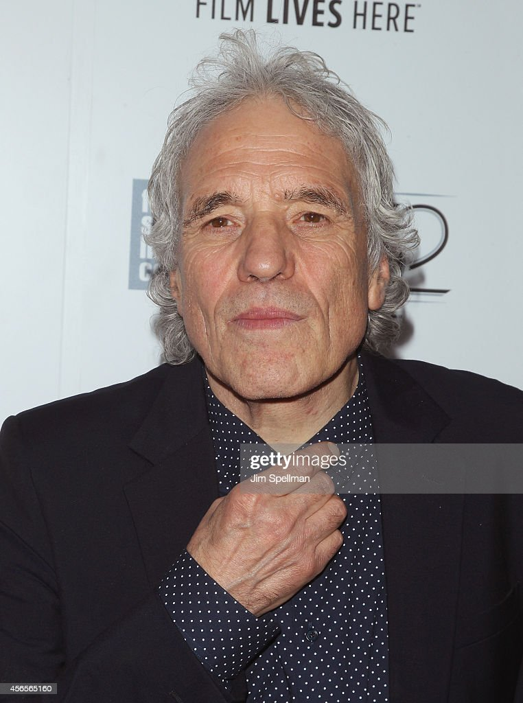 Director Abel Ferrara attends the 'Heaven Knows What' Premiere during the 52nd New York Film Festival at Alice Tully Hall on October 2, 2014 in New York City.