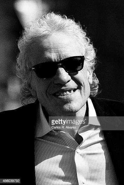 Director Abel Ferrara attends the Pasolini photocall at the Kursaal Palace during the 62nd San Sebastian International Film Festival on September 21...