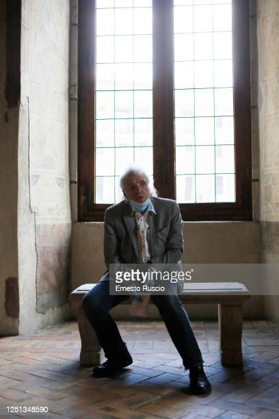 "Director Abel Ferrara attends the reading by Abel Ferrara inspired by the ""Suicide Gaul"" by the poet Gabriele Tinti at Palazzo Altemps on June 22,..."