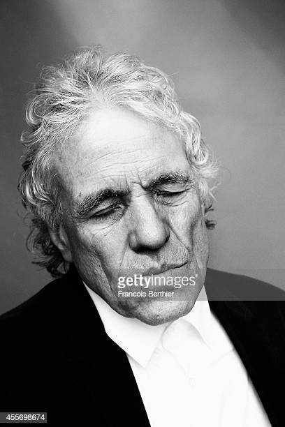 Director Abel Ferrara is photographed for Self Assignment on September 13 2014 in Deauville at Villa Cartier France