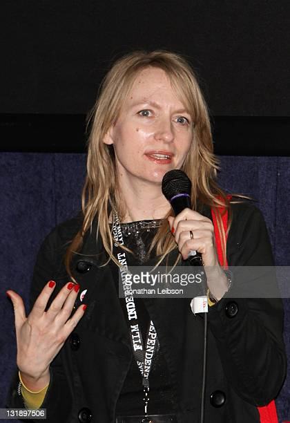 """Director Abigail Blackmore attends the """"Shorts Program 1"""" Q & A during the 2011 Los Angeles Film Festival held at the Regal Cinemas L.A. LIVE on June..."""