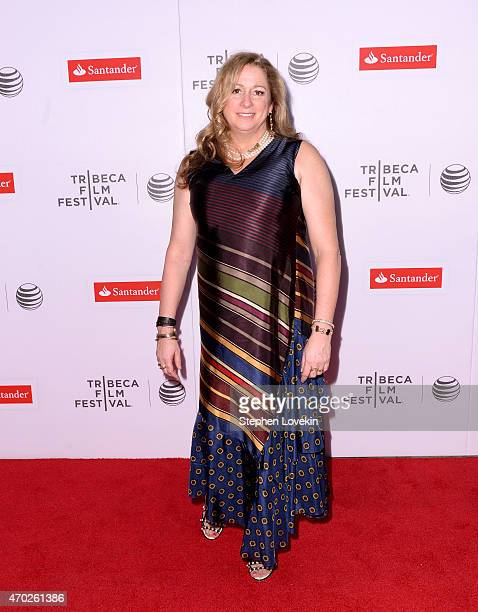Director Abigail Disney attends the premiere of The Armor Of Light during the 2015 Tribeca Film Festival at Regal Battery Park 11 on April 18 2015 in...