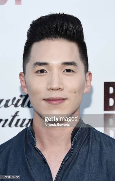 Director Abraham Lim arrives at the Los Angeles premiere of 'Billy Boy' at the Laemmle Music Hall on June 12 2018 in Beverly Hills California