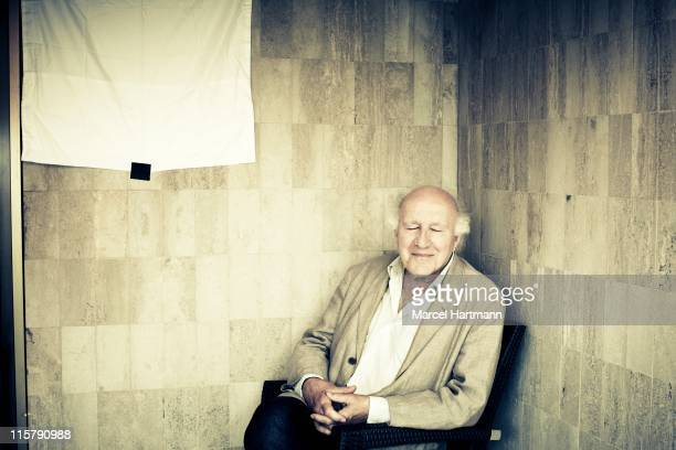 Director actor and producer Michel Piccoli is photographed for Studio Cine Live on May 18 2011 in Cannes France