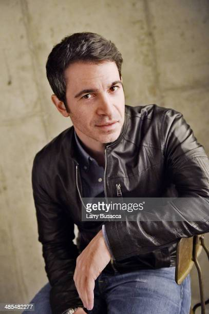 Director/ Actor Chris Messina from 'Alex of Venice' poses for a portrait at the 2014 Tribeca Film Festival Getty Images Studio on April 18 2014 in...