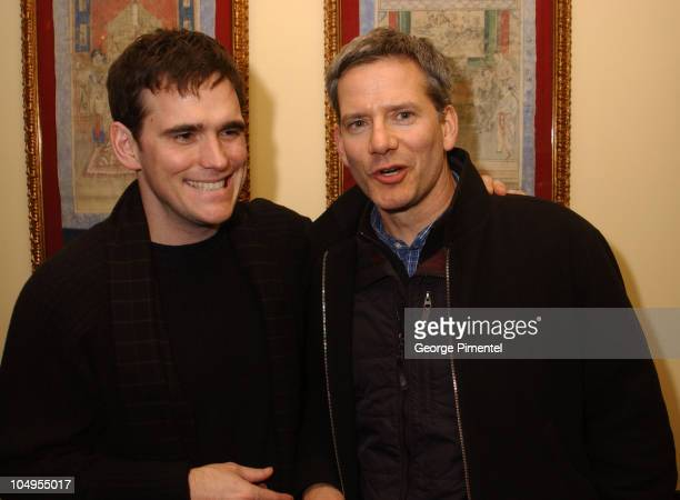 Director / actor / cowriter Matt Dillon and Campbell Scott