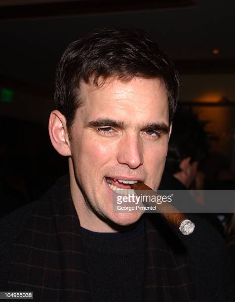 Director / actor / cowriter Matt Dillon during 2003 Sundance Film Festival 'City of Ghosts' AfterParty at Wahso in Park City Utah United States