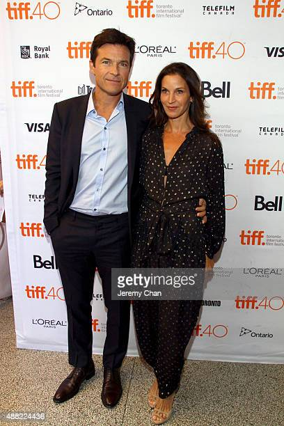 Director/ actor Jason Bateman and Amanda AnkaBateman attend 'The Family Fang' premiere during the 2015 Toronto International Film Festival at the...