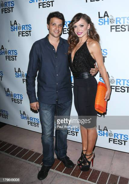 Director / Actor Ralph Macchio and Reality TV Personality / Actress Karina Smirnoff attend the Los Angeles International Short Film Festival 2013...