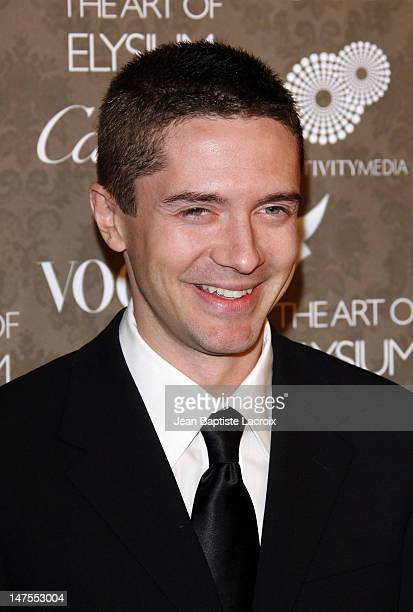 Director Actor Topher Grace arrives at the Art of Elysium 2nd Annual Heaven Gala held at Vibiana on January 10, 2009 in Los Angeles, California.