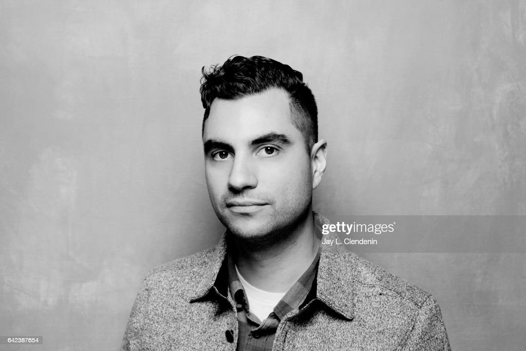 Director Adam Bhala Lough, from the documentary film The New Radical, is photographed at the 2017 Sundance Film Festival for Los Angeles Times on January 23, 2017 in Park City, Utah. PUBLISHED IMAGE.