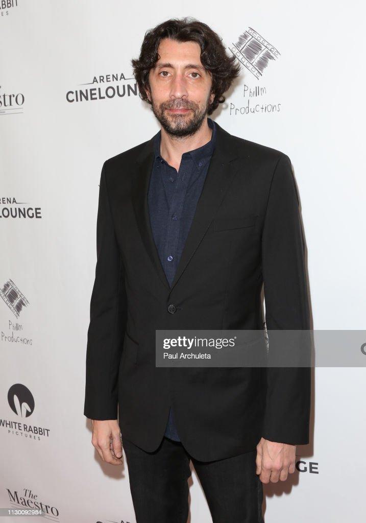 "CA: ""The Maestro"" Los Angeles Premiere - Arrivals"